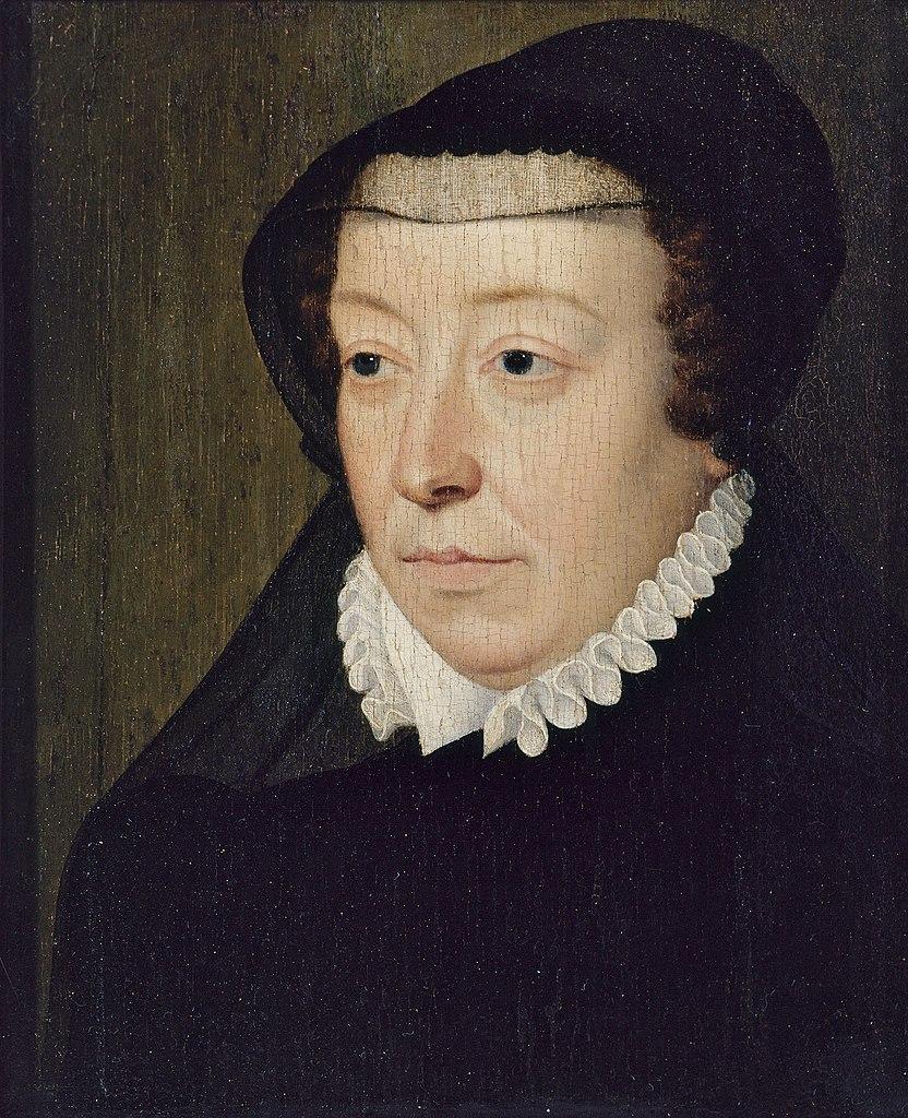 Portrait de la reine noire, Cathérine de Médicis