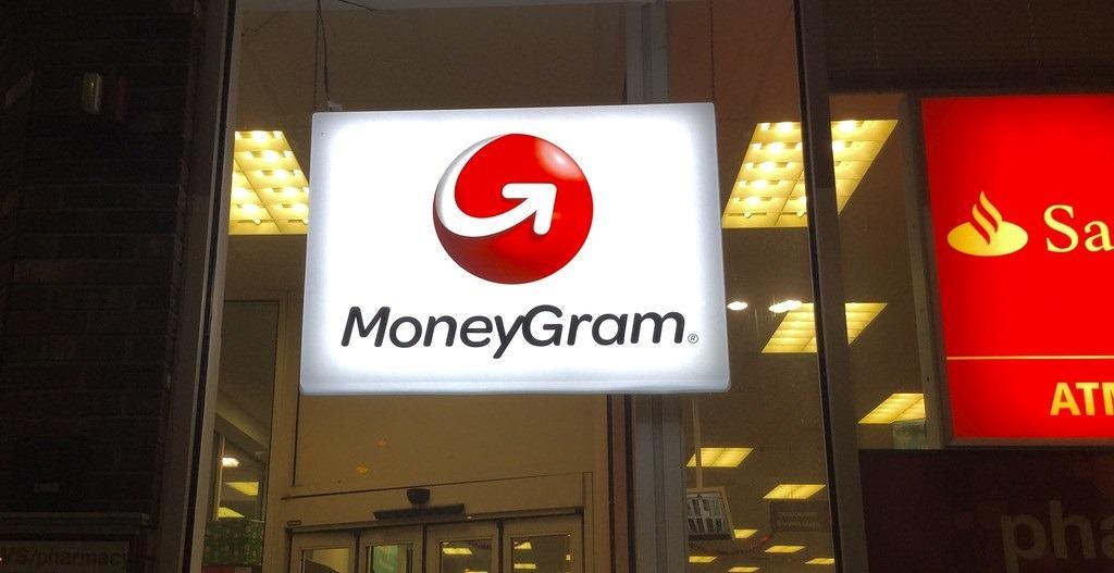 Pancarte lumineuse MoneyGram