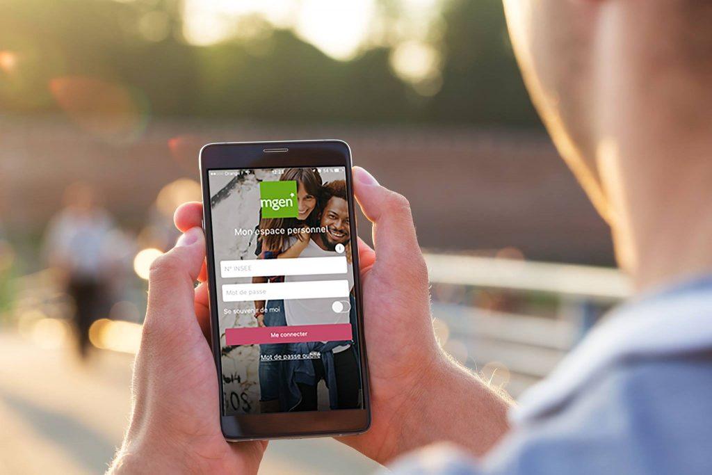 La MGEN dispose d'une application mobile