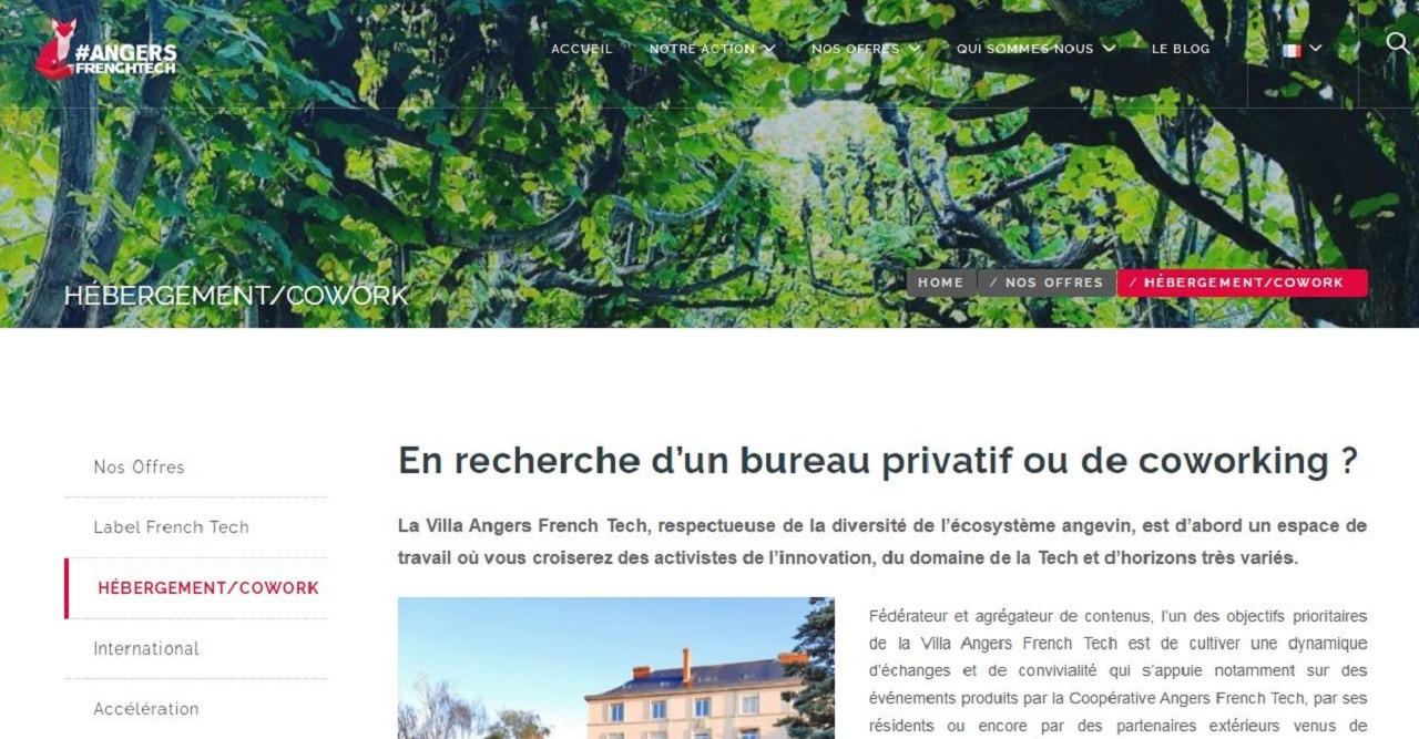 Villa Angers French Tech