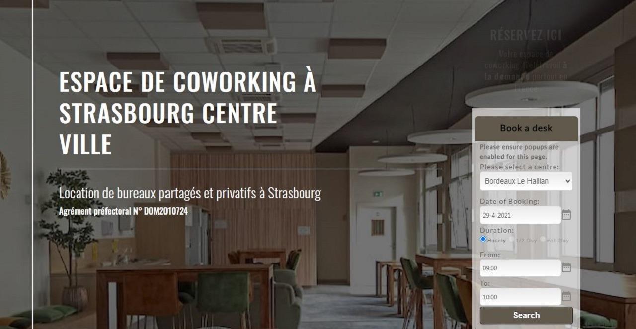 Startway Coworking Strasbourg