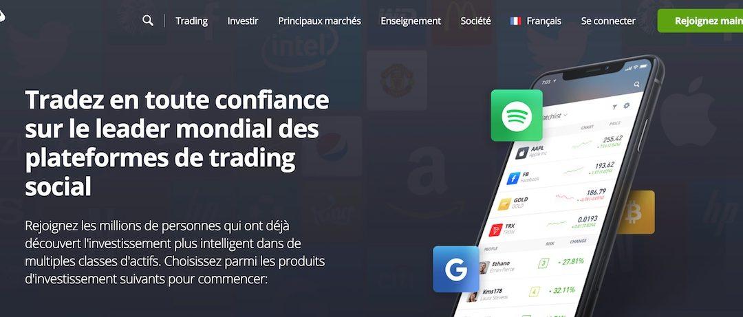 Trader avec eToro : quels sont les avantages et inconvénients ?