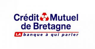 Logo du crédit mutuelle de Bretagne