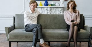 Couple en instance de divorce